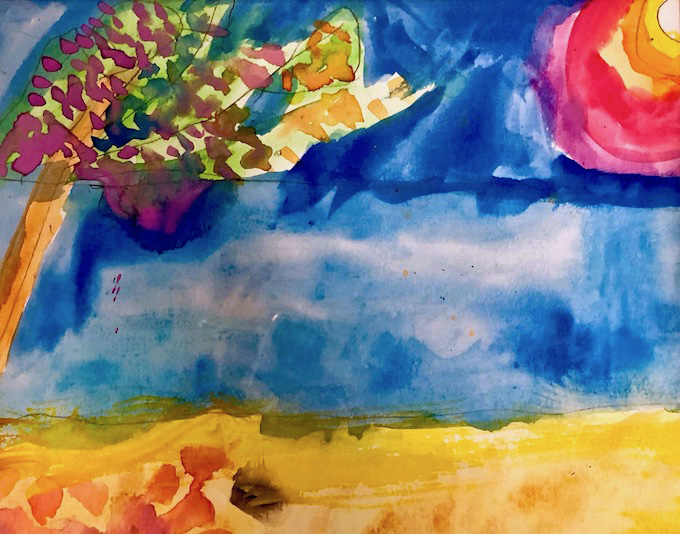 """Artists Supported by AHRC NYC """"Journey"""" with Artist Bonnie Astor"""